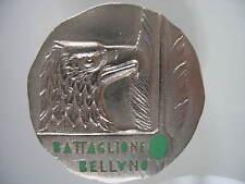 DISTINTIVI ALPINI BTG BELLUNO BRIGATA ALPINA CADORE 1965 SMALTI  ALPINE BADGES