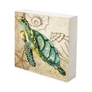 Decorative Sea Turtle Canvas Art Home Seaside Decor for Living Room Bedroom