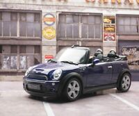 Welly Mini Cooper S Cabrio 2014 1:43 1/43 Diecastt Car Model Blue