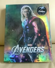Avengers Bluray Steelbook, fullslip version (Thor cover)  New/Sealed,  Novamedia
