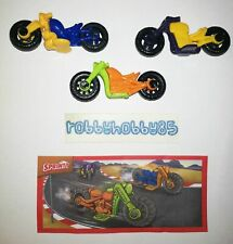 MOTORCYCLES COMPLETE SET WITH ALL PAPERS KINDER SURPRISE EGG TOYS 2019/2020