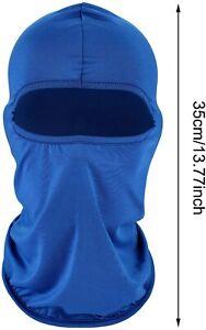 1pc Cycling Balaclava Summer Sun Ultra UV Windproof Full Face Mask Neck Scarf