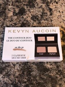 Kevyn Aucoin The Contour Duo On The Go Sculpt & Highlight, New & Boxed