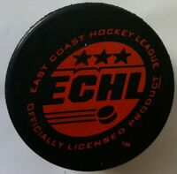 KNOXVILLE CHEROKEES VINTAGE RARE red ECHL VINTAGE OFFICIAL GAME PUCK MADE IN CZ