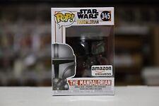Funko Pop The Mandalorian Chrome Amazon Exclusive #345