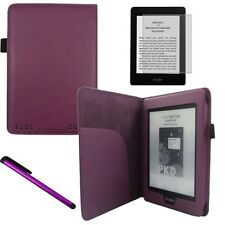 UCE Bookstyle für Kindle PaperWhite Schutz Hülle Tasche Cover + Touch Pen lila