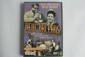DVD Louis ARMSTRONG et Billie HOLIDAY New Orleans 1947 Jazz (49903)