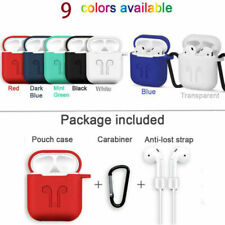 Silicone Shock Proof Protective Cover Case Thin Skin For Apple AirPod Earphone