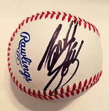 2014 Tony Stewart NASCAR Signed Auto Official League Baseball #2