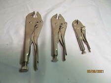 "3 Vintage Craftsman Vise Grip Jaw Locking Pliers: automotive""tools"