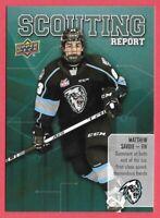 2019-20 Matthew Savoie Upper Deck CHL Rookie Scouting Report - Winnipeg Ice