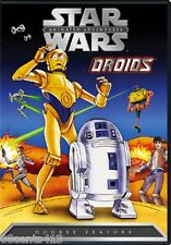 Star Wars Animated Adventures - Droids (FS DVD) C-3P0 & R2-D2 Travel the Galaxy!