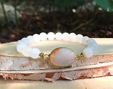 Mondstein Armband Liebe Lebenskraft Ausgeglichenheit Gold