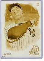 Aaron Judge 2019 Allen and Ginter 5x7 Gold #200 /10 Yankees