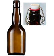 Set da 20 bottiglie vetro per birra artigianale da 500 ml con tappo meccanico