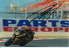 Louis Rossi mano firmado 7x5 Foto Tech 3 Moto 2 MotoGP 15.
