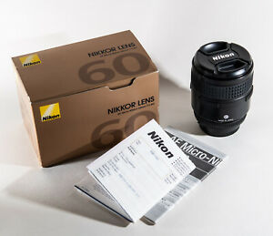 Nikon AF Micro Nikkor 60mm f/2.8D lens for Nikon - Boxed Great Condition