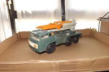 Spielzeug  LKW Panzer Raketenwerfer UdSSR CCCP DDR 70er Jahre mit OVP