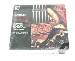 CD Box Set COMPLETE 5 Disc Buxtehude L'Oeuvre D'Orgue Organ Works Rene Saorgin