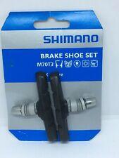 Shimano M70T3  70MM Brake Shoes Brake Pads For LX / Deore Black NEW FREE UK PP