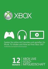 Xbox Live Gold Mitgliedschaft 12 Monate EU only - Versand in unter 12h