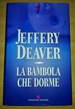 Libro Romanzo - JEFFERY DEAVER - LA BAMBOLA CHE DORME - ed. SONZOGNO