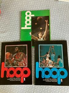3 New Orleans Jazz Basketball Programs Pete Maravich Buffalo Braves Celtics