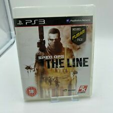 Spec OPS THE LINE Sony PlayStation 3 PS3 PAL sin manual