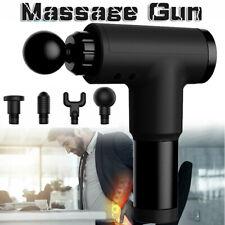 6 Speed Massage Gun Percussion Massager Deep Tissue Muscle Vibrating Relaxing