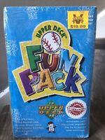 1994 Upper Deck BB Fun Pack Fact. Sealed Box W Chance For Michael Jordan BB RC