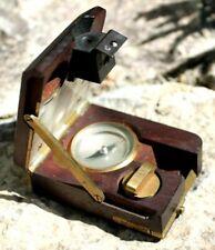 Rare boussole de géomètre tavernier - gravet fabriquant a paris ( théodolite )