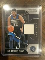 2019-20 Prizm Karl-Anthony Towns Sensational jersey patch Relic Timberwolves