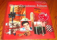 ELVIS PRESLEY CHRISTMAS ALBUM GREEN COLORED VINYL LP SEALED WITH HYPE STICKER !