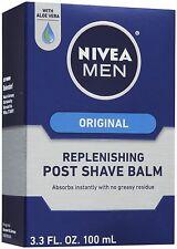 Nivea After Shave und vor der Rasur