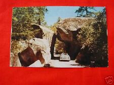 YOSEMITE NATIONAL PARK CA VINTAGE VIEW ARCH ROCK