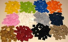 LEGO COLORED 2 X 2 THIN TILES PLATES SMOOTH BUILDING BLOCKS YOU PICK YOUR COLOR