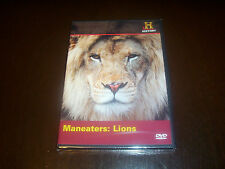 MANEATERS LIONS Africa Safari Hunt Killer African Lion History Channel DVD NEW