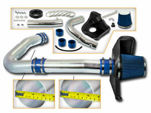BCP BLUE 11-20 Charger/Challenger/300 3.6 V6 Heat Shield Cold Air Intake +Filter