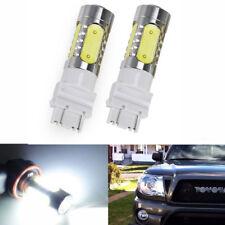 2Pcs White COB LED Daytime Running Light DRL Bulbs For Toyota Tundra 2007-2017