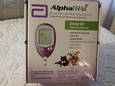 AlphaTrak Dog/Cat Blood Glucose Monitoring System with current  Test Strips