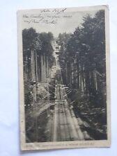 Ansichtskarte Baden-Baden Drahtseilbahn a.d. Merkur 1913 Seilbahn