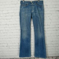 7 For All Mankind Jeans Womens 27 Boy Cut 7FAM Button Fly