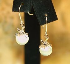 Hawaiian 2-Tone 925 Silver 14kRGP Motion Baby Turtle Egg Hatchling Earrings #1