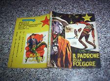 IL PICCOLO RANGER N.5 ORIGINALE SPILLATO 1964 MB/OTT 1°edizione TIPO TEX ZAGOR