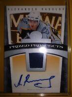 2007 Fleer Hot Prospects Alexander Radulov Autograph & Jersey Auto Rookie Dallas