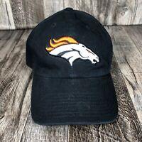 Denver Broncos Adjustable Strap 47' Brand Dad Hat Cap NFL Football One Size OSFM