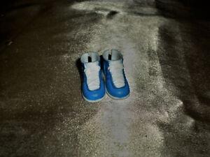"""Barbie""""S Ken Size Doll Shoes - Blue & White Tennis Shoes."""