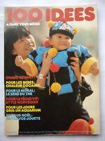 revue 100 IDEES  A FAIRE VOUS MEME - couture tricot broderie N°73  novembre 1979