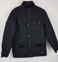 Boys Firetrap Jacket Quilted Fur Kingdom Coat Junior Boys 13 Yrs XLB B642-50