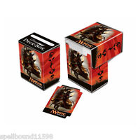 SARKHAN KHANS OF TARKIR TOPLOADING ULTRA PRO DECK BOX CARD BOX FOR MTG